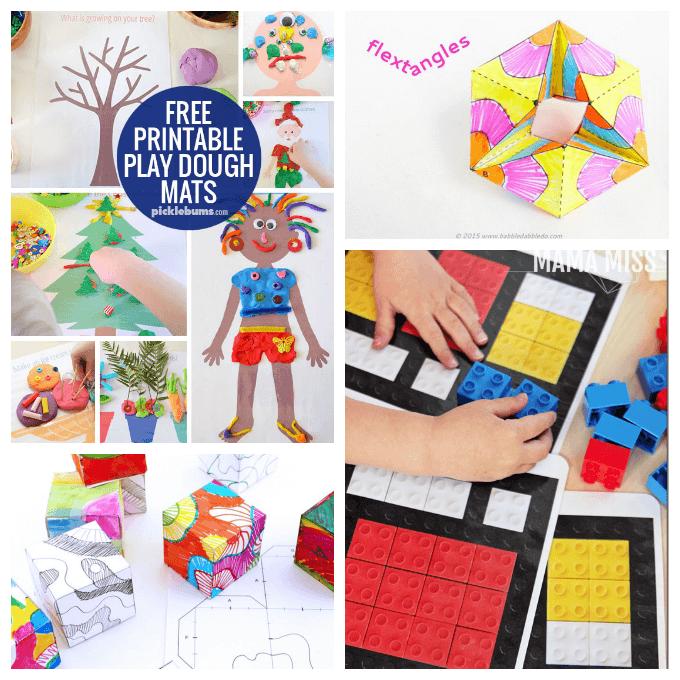 Printables for 3D Art Activities