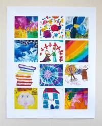 21 Ways to Display Kids Artwork - Honor Creativity ...