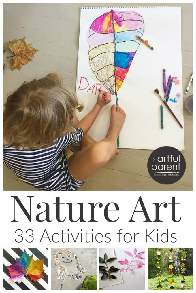 Nature Art For Kids 33 Nature Art Activities To Try