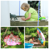 Kid Friendly Backyard - How to Set One Up for Active Play