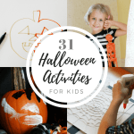 31 Days Of Halloween Activities For Kids With Free Printable
