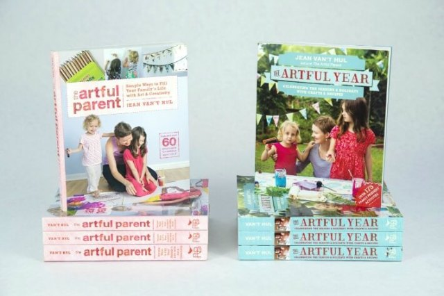 The Artful Parent Books by Jean Van't Hul