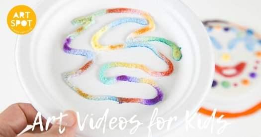 Art Videos for Kids at the Kids ART SPOT