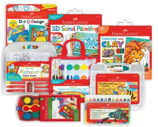 Faber Castell Art Supplies for Kids Giveaway Prize