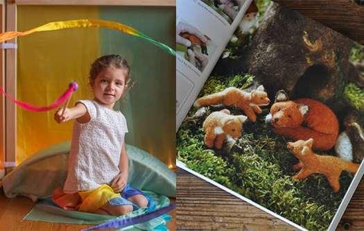 Imagine Childhood & Sarah's Silks