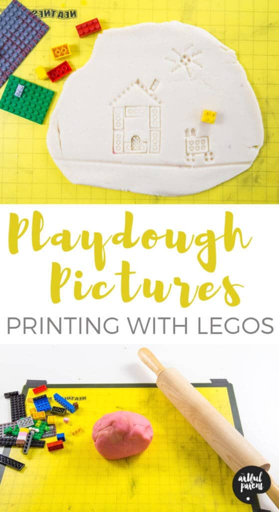 LEGO Pictures in Playdough