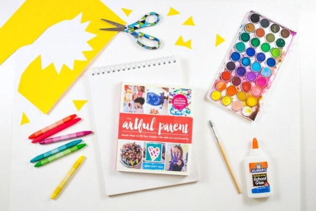 The New Artful Parent Book with Kids Art Supplies