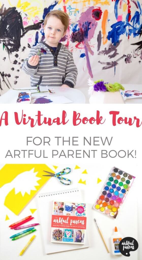 A Virtual Book Tour for the New Artful Parent Book
