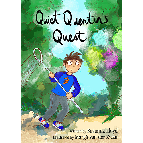 Quiet Quentin's Quest Book Cover