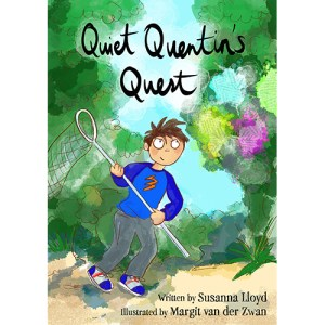 Quiet Quentin's Quest Book Cover