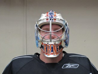Tyler Bunz 2012-13 Mask (Photo: Patricia Teter. All Rights Reserved.)