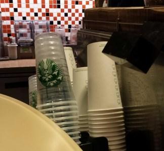 Departure: Starbucks before 6am