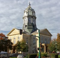 Winterset, Iowa Town Square. (Photo: Patricia Teter. All Rights Reserved.)