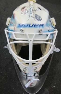Tyler Bunz Mask Front (Photo Patricia Teter, All Rights Reserved)