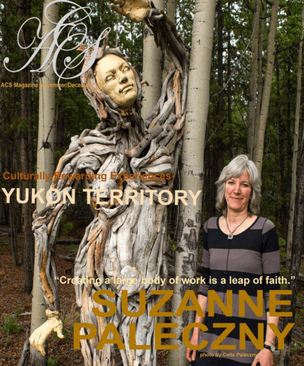 ACS Magazine cover - Yukon edition