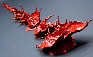 """Karma-The First Blood"" by Johnson Tsang. Porcelain. Copyright © Johnson Tsang"