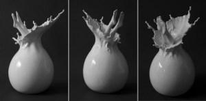 """Splash"" by Johnson Tsang. Porcelain. Copyright © Johnson Tsang"