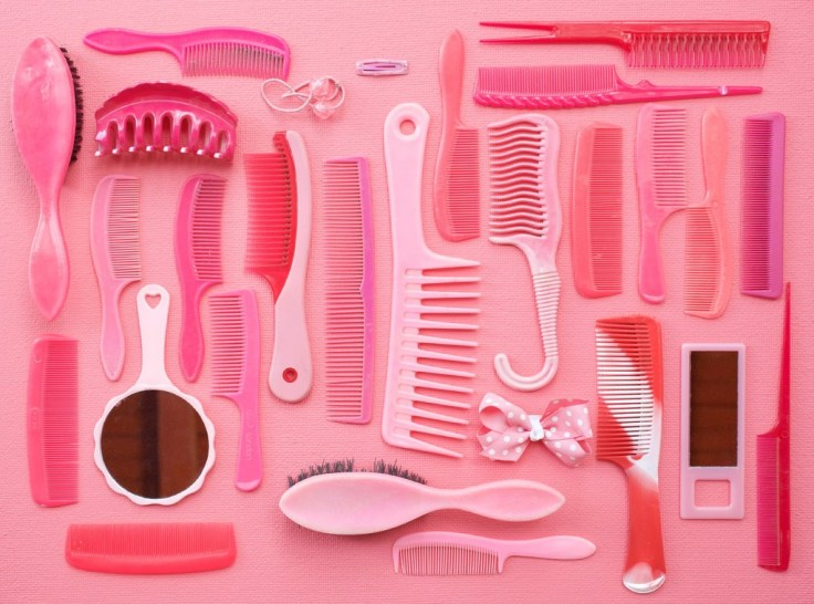 Pink Combs and Brushes. Tom Kiefer. Photograph courtesy of Thomas Kiefer/Redux Pictures.