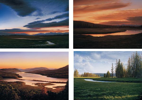 Landscape Notecards