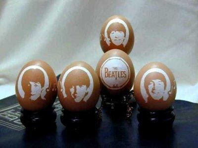 """The Beatles"" by Gary LeMaster © Gary LeMaster and The Eggshell Sculptor, LLC"