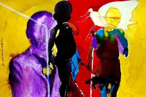 "Artwork: ""A Link to History"" by Tapas Das"