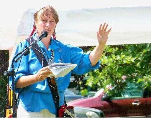 Carolyn Hunt, Native storytelling.