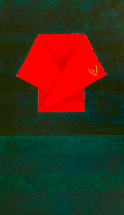 "Artwork: ""Composition I"" by Elizabeth Whiteley."