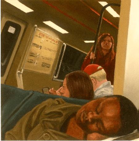 Artwork: Reflected Sleeper by Elizabeth Ennis