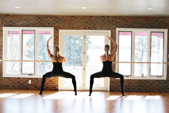barre ballet poses