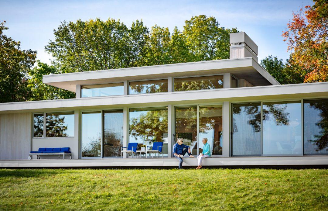 Inside Architect Charles Stinson S New Lake Minnetonka Home Artful Living Magazine