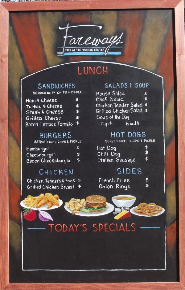 Restaurant Chalkboard Menu Boards