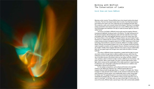 Lumia Thomas Wilfred And Art Of Light Yale