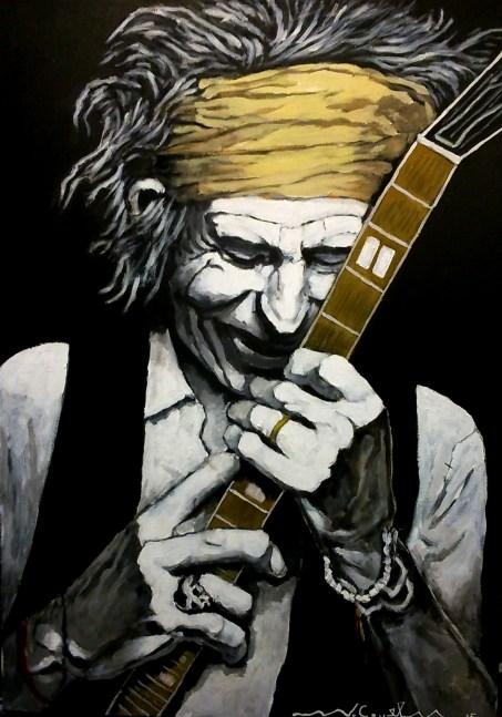Keith Richards (13) 50 x 70 2015
