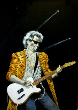 Keith Richards (22) 70 x 50 2015
