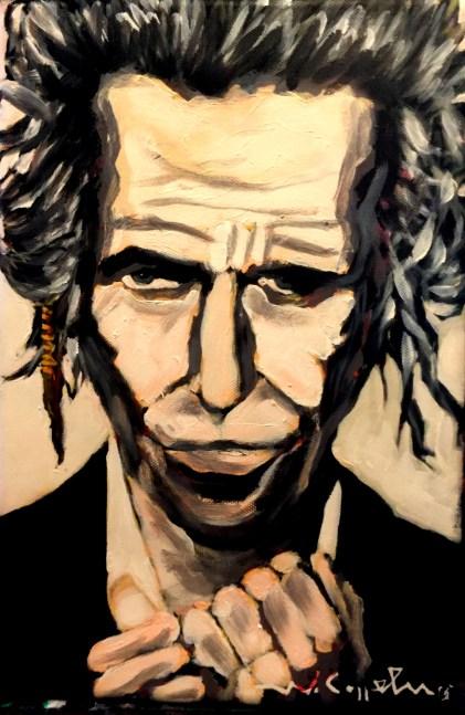 Keith Richards (39) 20 x 30 2015