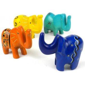Soapstone little elephant