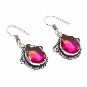 Red Turmalian Earrings