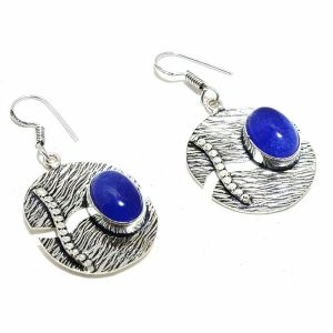 Blue Aventurian Earrings