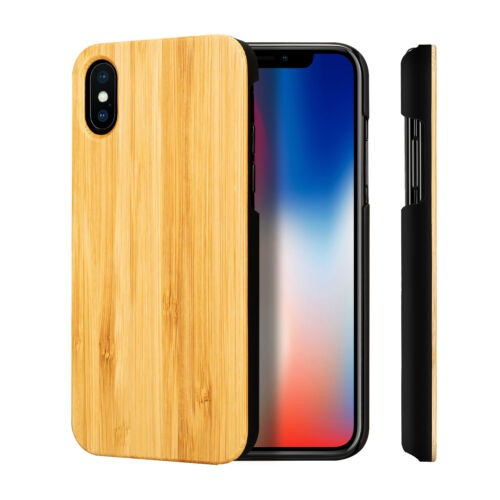 Phone Case Wood Cover iPhone XS model
