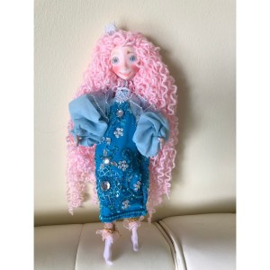 Collectible Doll – Blue Dress