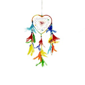 Dreamcatcher Heart Shaped