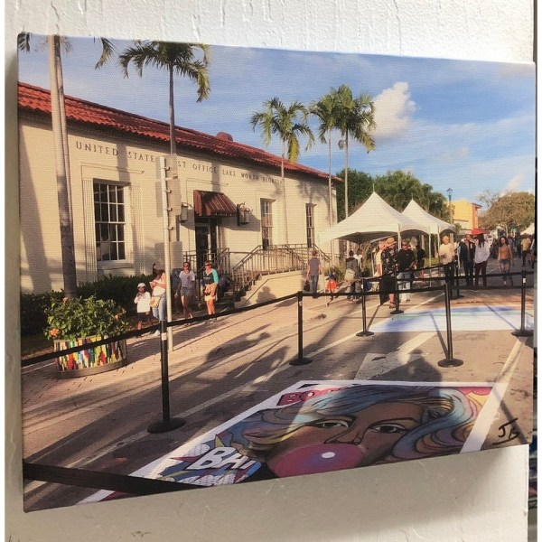 Street Painting - Postal Office