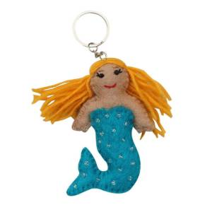 Felt Key Chain – Mermaid