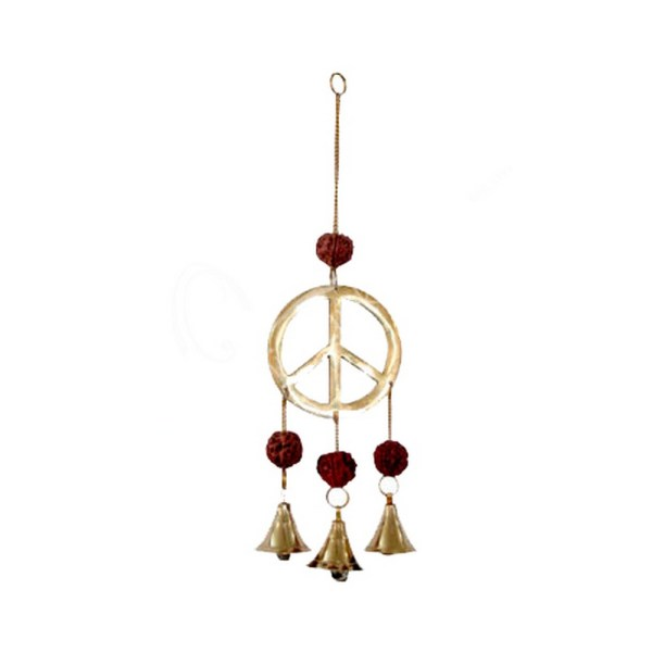 Peace Sign Wind Chime