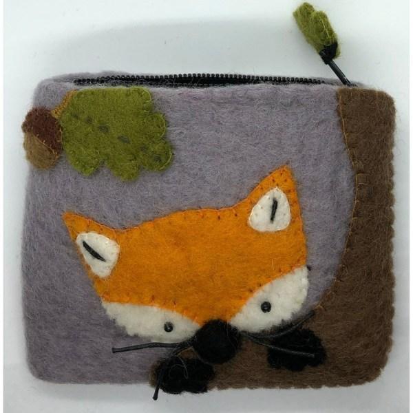 Felt Coin Purse - Fox