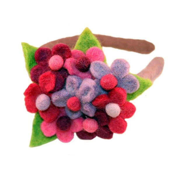 Felt Headband - Bouquet