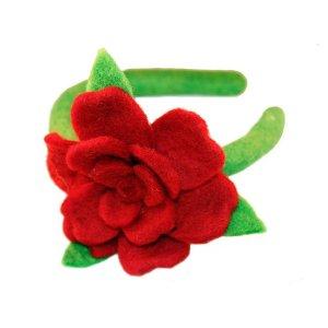 Felt Headband – Rose