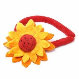 Felt Headband – Sunflower
