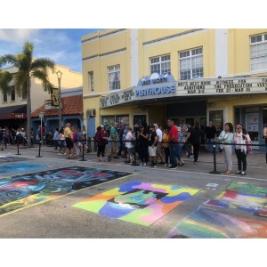 Street Painting – Lake Worth Playhouse