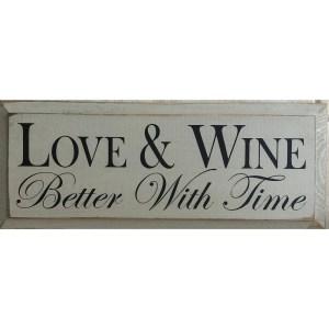 Wood Rustic Tile – Love & Wine